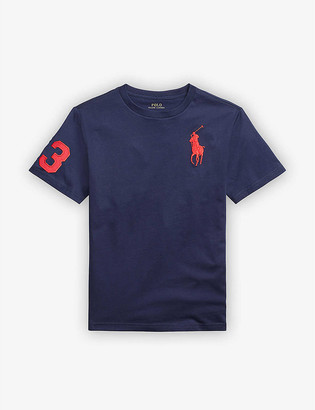 Ralph Lauren Logo-embroidered cotton T-shirt 2-14 years