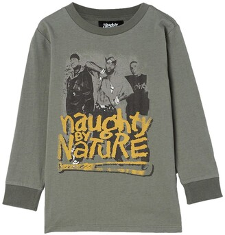 Cotton On Naughty by Nature Co-Lab Long Sleeve T-Shirt
