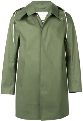 MACKINTOSH Bonded Short Hooded Coat