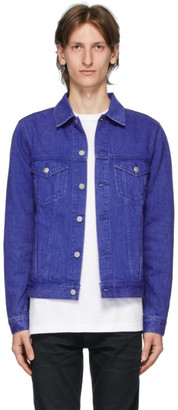 John Elliott Blue Denim Thumper Type III Jacket