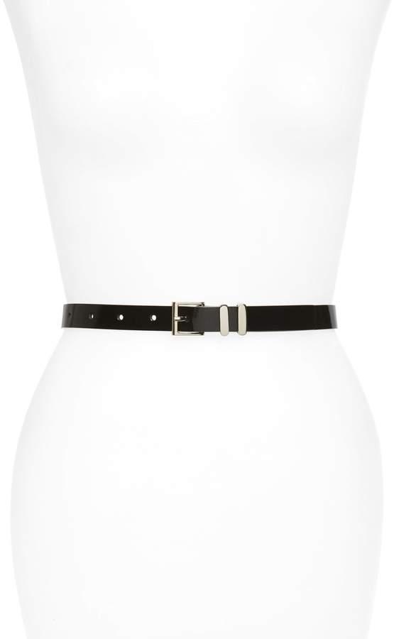 Halogen Faux Leather Belt