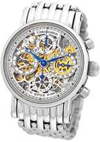 "Chronoswiss Opus"" CH7523S SBL Stainless Steel Chronograph Automatic 38mm Mens Watch"