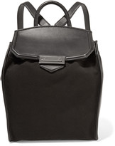 Alexander Wang Prisma leather and canvas backpack