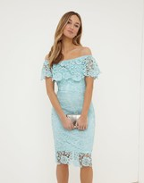 Paper Dolls Paperdolls Bardot Lace Dress