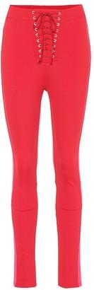 Unravel Lace-up leggings