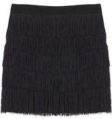See By Chloe Black Flapper Skirt
