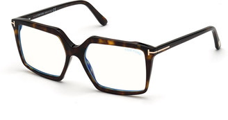 Tom Ford FT5689-BW54 Blue Light Blocking Square Optical Glasses