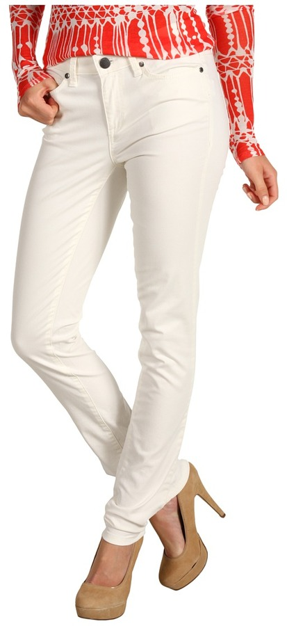 Calvin Klein Jeans Olah Colored Denim Ultimate Skinny (Vanilla) - Apparel