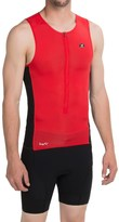 Sugoi RS Ice Tri Tank Top - UPF 50+, Zip Neck (For Men)