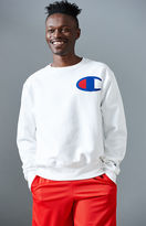 Champion Big C Reverse Weave Crew Neck Sweatshirt