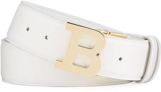 Bally Men's 40mm Leather B-Buckle Belt