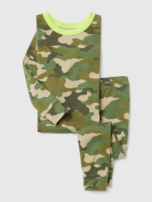 Gap babyGap Long Sleeve Camo PJ Set