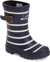 Joules Stripe Welly Rain Boot (Walker, Toddler, Little Kid & Big Kid)