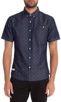 7 Diamonds Men's Gleem Of Light Slim Fit Woven Shirt