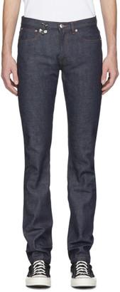 A.P.C. Indigo JJJJound Edition Petit Standard Jeans