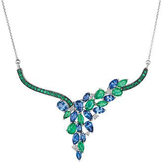 LeVian Le Vian 14K 5.94 Ct. Tw. Diamond & Gemstone Necklace