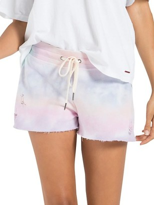 n:philanthropy It Was All A Dream Tie-Dye Shorts