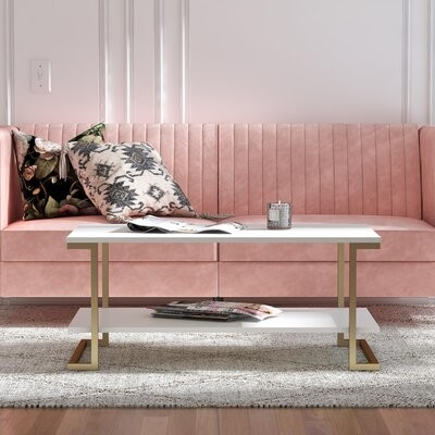 Thumbnail for your product : CosmoLiving by Cosmopolitan Camila Sled Coffee Table with Storage