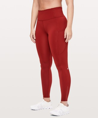 Lululemon Red Women S Athletic Pants On Sale Shopstyle