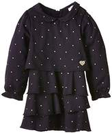 3 Pommes Baby Girls SWEET LOVE Polka Dot Dress,(Manufacturer size: 12 mois)