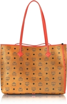 MCM Kira Visetos EW Cognac Medium Shopper