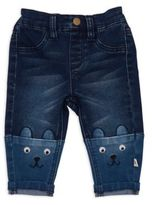 Rosie Pope® French Terry Denim Bear Pant