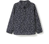 Jacadi Girls' Flower Print Poplin Blouse - Little Kid