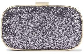 Anya Hindmarch Marano Glittered Woven Box Clutch