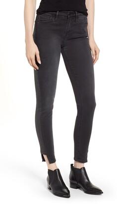 Frame Le Skinny de Jeanne Side Stripe Ankle Jeans