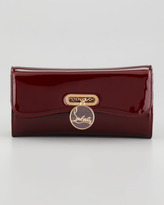 Christian Louboutin Riviera Patent Clutch Bag, Red