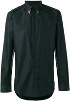 Givenchy metallic tipped collar shirt - men - Cotton - 38