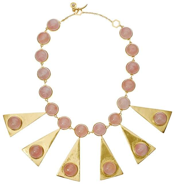 Tory Burch Triangle Stone Statement Necklace Necklace