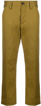 Pt01 Straight Leg Cropped Trousers
