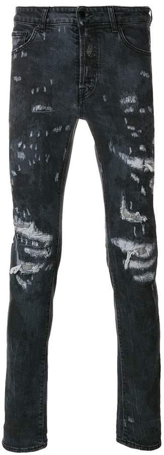 Marcelo Burlon County of Milan Arke slim fit jeans