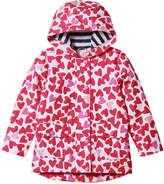 Joe Fresh Toddler Girls' Zip Up Rain Jacket, Red (Size 2)