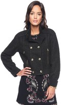 Juicy Couture Velvet Shearling Jacket