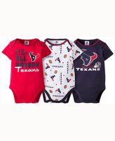 Gerber Babies' Houston Texans 3 Piece Creeper Set