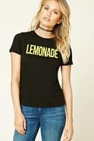 Forever 21 FOREVER 21+ Lemonade Graphic Tee