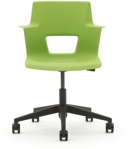Steelcase Turnstone Shortcut Task Chair Frame Finish: White Gloss/Arctic White