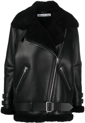 Acne Studios Oversized Aviator Coat