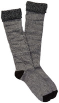 Shimera Crochet Layered Knee High Socks