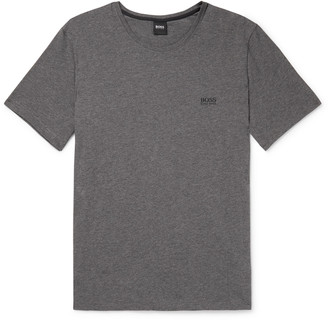 HUGO BOSS Logo-Embroidered Stretch Cotton-Jersey T-Shirt