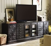 Pottery Barn Printer's Eclectic Entertainment Center, Tuscan Chestnut