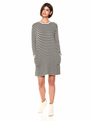 Velvet by Graham & Spencer Women's Mabel Cozy Stripe Dress