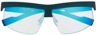 DKNY Shield Frame Sunglasses