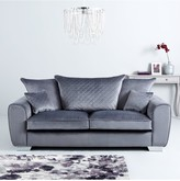 Vibe Fabric 3 Seater + 2 SeaterScatter Back Sofa (Buy and SAVE!)