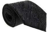 Gianfranco Ferre J036 U01 Black Silk Mens Tie.