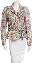 Balenciaga Embroidered Silk Jacket