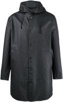 Stutterheim hooded raincoat - men - Cotton/Polyester/PVC - S