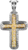 Konstantino Pave Diamond Cross Pendant Enhancer